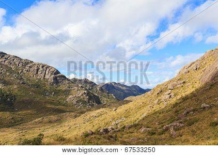 Landscape Mountains In Itatiaia National Park, Rio De Janeiro, Minas Gerais