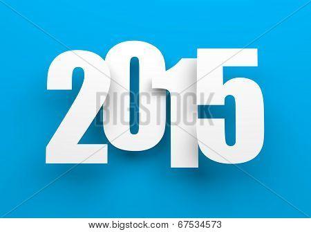 2014 on blue.
