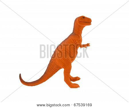 Tyrannosaur orange toy