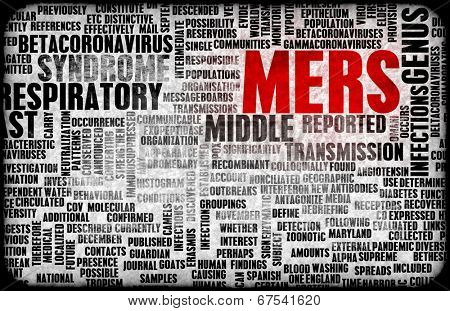 MERS or Middle East Respiratory Syndrome