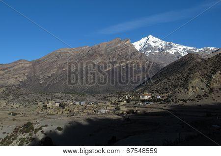 Village Ngawal, Nepal
