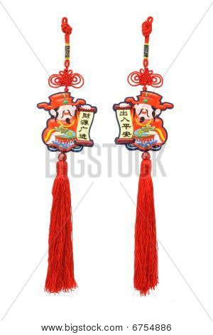 Chinese New Year God Of Prosperity Ornaments