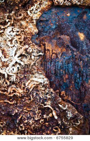 viejo textura oxidado