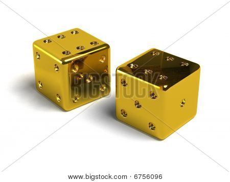 Gold Dices.