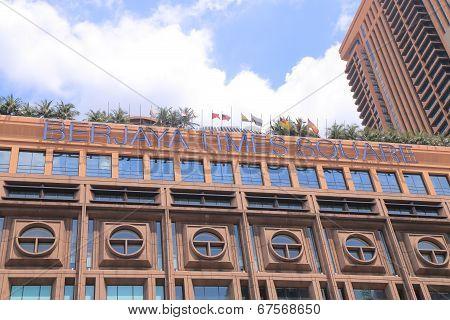 BERJAYA Times Square department store Kuala Lumpur