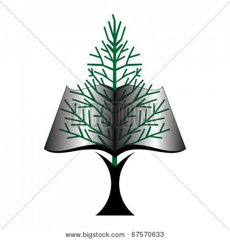 book tree icon