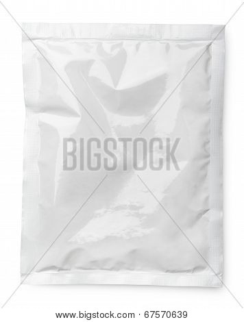 Blank Product Package On White