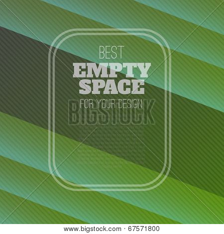 green background (vector template illustration)
