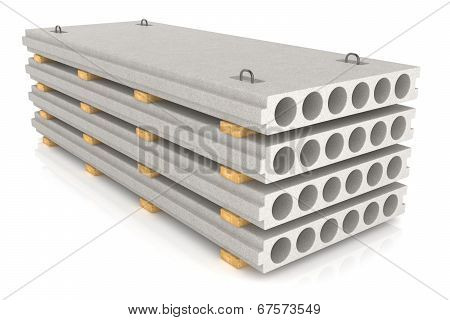 Group Of Concrete Panels