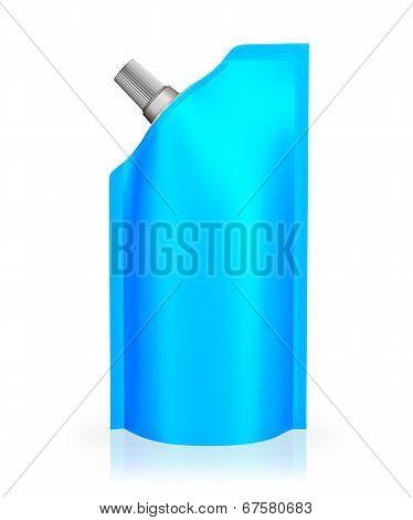 Blue Spout Pouch
