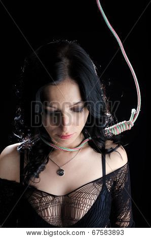 Woman With Hanging Noose