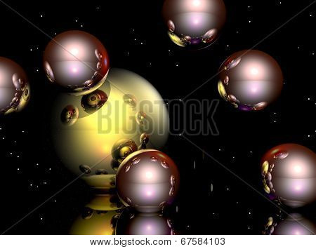 Transparent Spheres