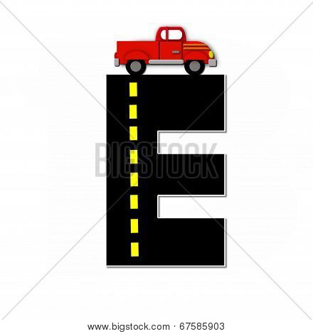 Alphabet Transportation By Road E