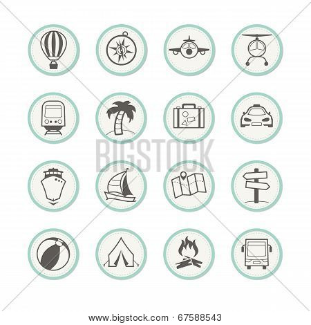 Travel & Holiday Icons