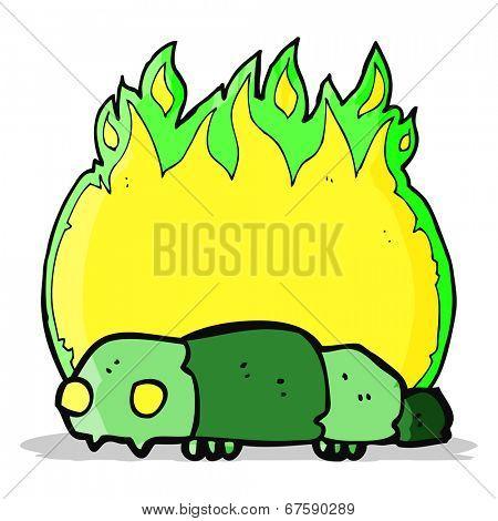 cartoon insect symbol