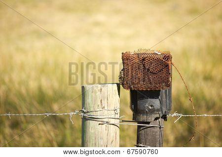 Rusty intercom
