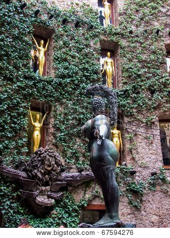 Dali's Museum In Figueres, Spain