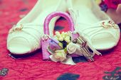 foto of wench  - Wedding shoes  - JPG