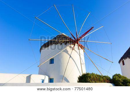 Windmill Of Mykonos Island,greece