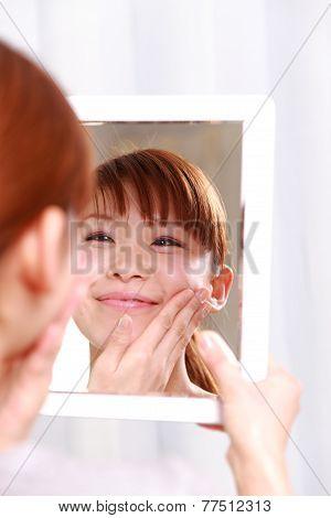 good condition skin