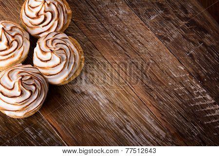 Delicious Dessert Meringues