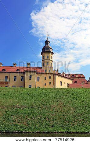 Ancient Nesvizhsky Castle In Nesvizh
