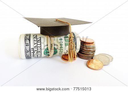 Graduation Cash And Coins