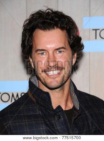 LOS ANGELES - NOV 12:  Blake Mycoskie arrives to the TOMS for Target Partnership Celebration on November 12, 2014 in Culver City, CA