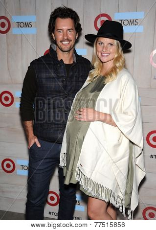 LOS ANGELES - NOV 12:  Blake Mycoskie & Heather Mycoskie arrives to the TOMS for Target Partnership Celebration on November 12, 2014 in Culver City, CA