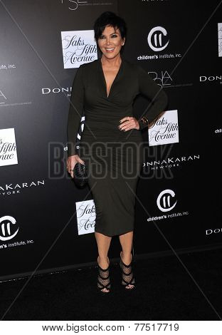 LOS ANGELES - OCT 08:  Kris Jenner arrives to the 5th Annual PSLA Autumn Party  on October 8, 2014 in Culver City, CA