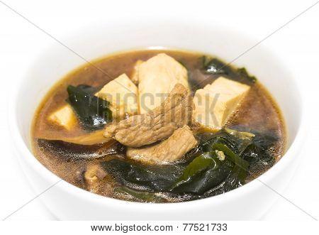 mushroom soup and beef