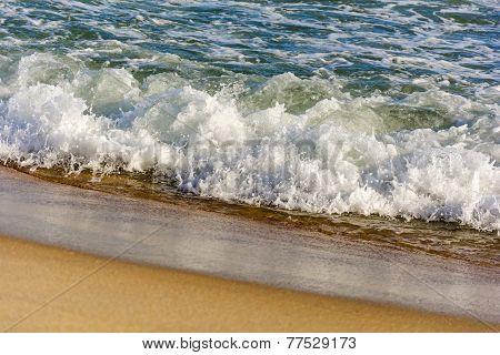 Água e areia