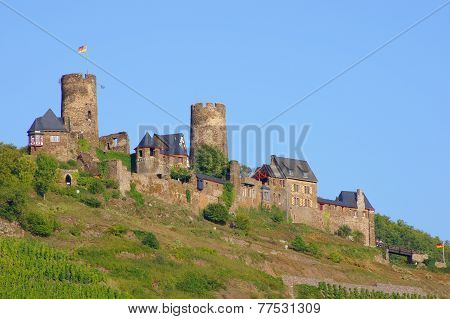 Castle Thurant on the Moselle