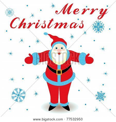 Marry Christmas With Santa Claus