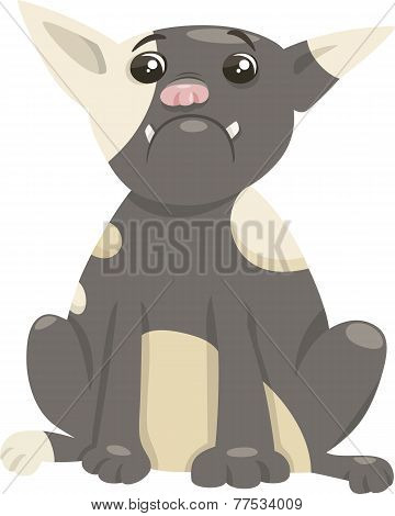 French Bulldog Dog Cartoon