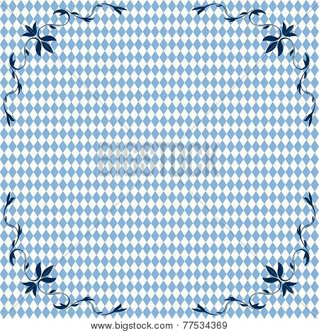 Oktoberfest Background Seamless With Ornament