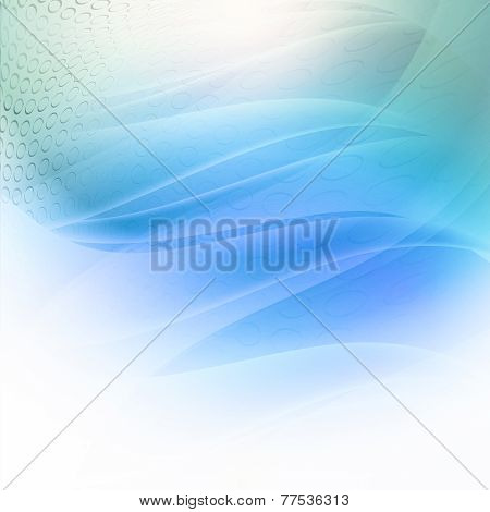 Geometric Abstract Modern Backgrounds Blue