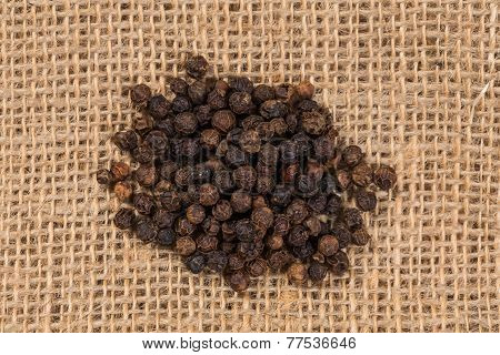 Black Pepper Peas