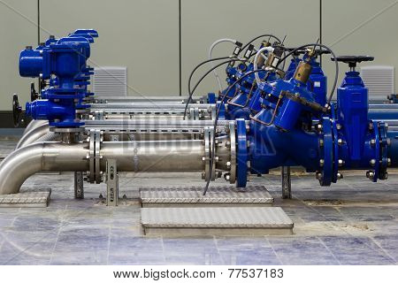 Industrial Water Pumping