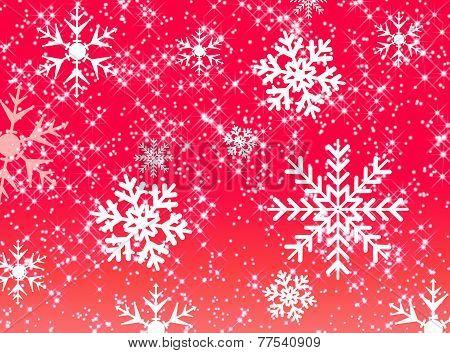 Stars And Snowflake Pattern