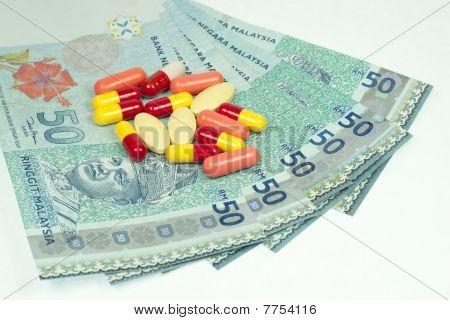 Medicine On Malaysian Ringgit Note