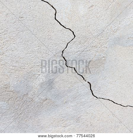 Concrete, Weathered, Worn. Landscape Style. Grungy Concrete Surface. Great Background Or Texture.