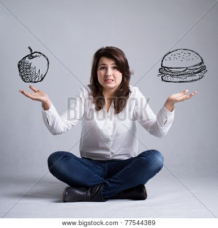 Girl With A Dilemma About Food