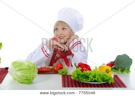 Beautiful Girl Chef