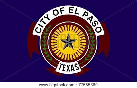 El Paso City Flag