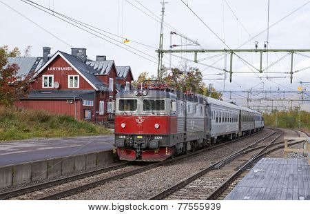 BJORKLIDEN, SWEDEN ON SEPTEMBER 11
