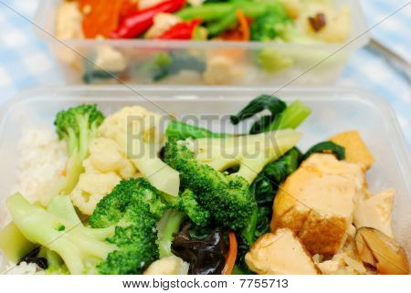 Many Healthy Vegetables For Packed Meal