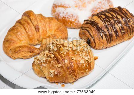 Croissants Close-up