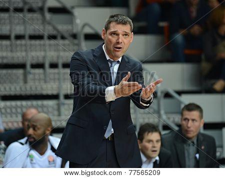Miodrag Rajkovic - Turów Zgorzelec coach.
