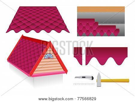 Soft Tile Roof.